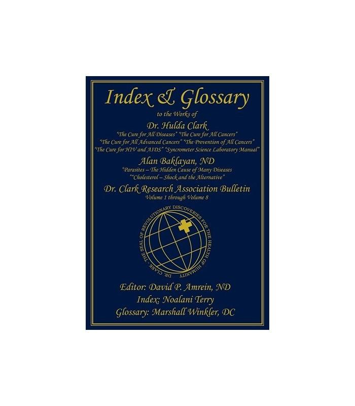 Index & Glossaire Dr Clark - Anglais