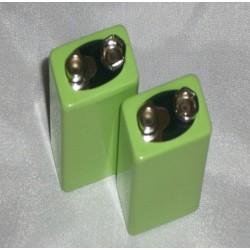 Lot de deux Piles - 9 volts - 300 mAh - Dr Clark
