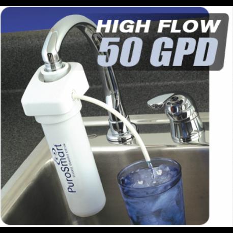 Purosmart - Filtre à eau par osmose inverse pour évier