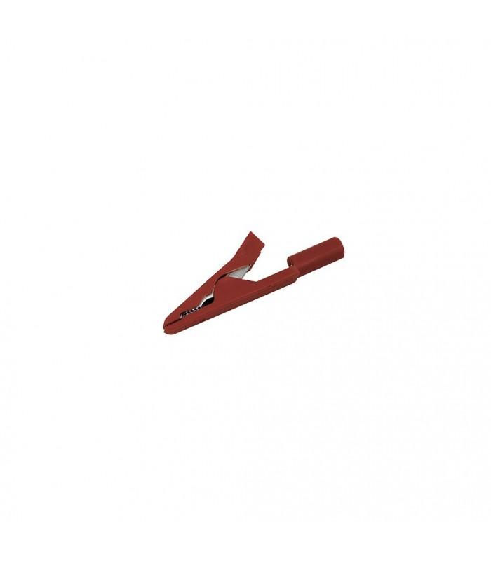 Pince crocodile rouge pour câble de VariZappeur 1.0
