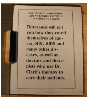 Testimonials about Dr Clark Cures
