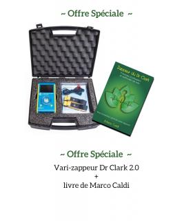 Pack offre spéciale vari-zappeur Dr Clark2.0 + livre de Marco Caldi