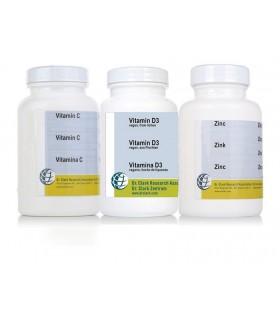 Soutien immunitaire - vit. C, D3 et zinc