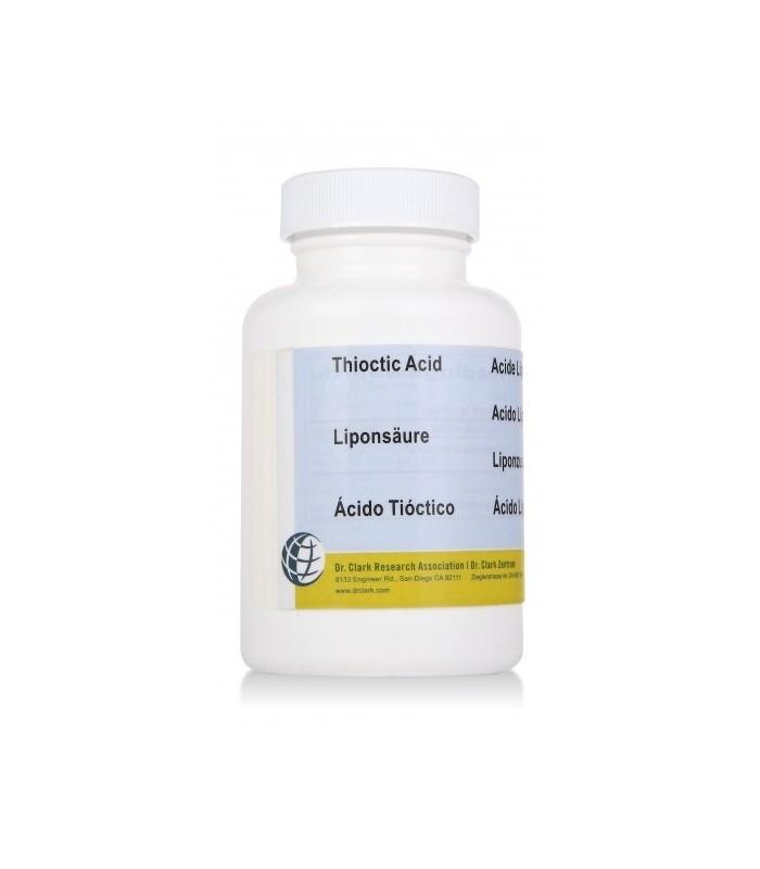 Acide Thioctique - Acide Alpha-Lipoïque - Dr Clark