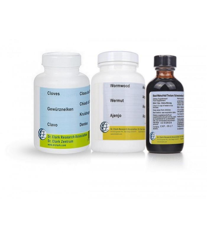 Cure antiparasitaire de base