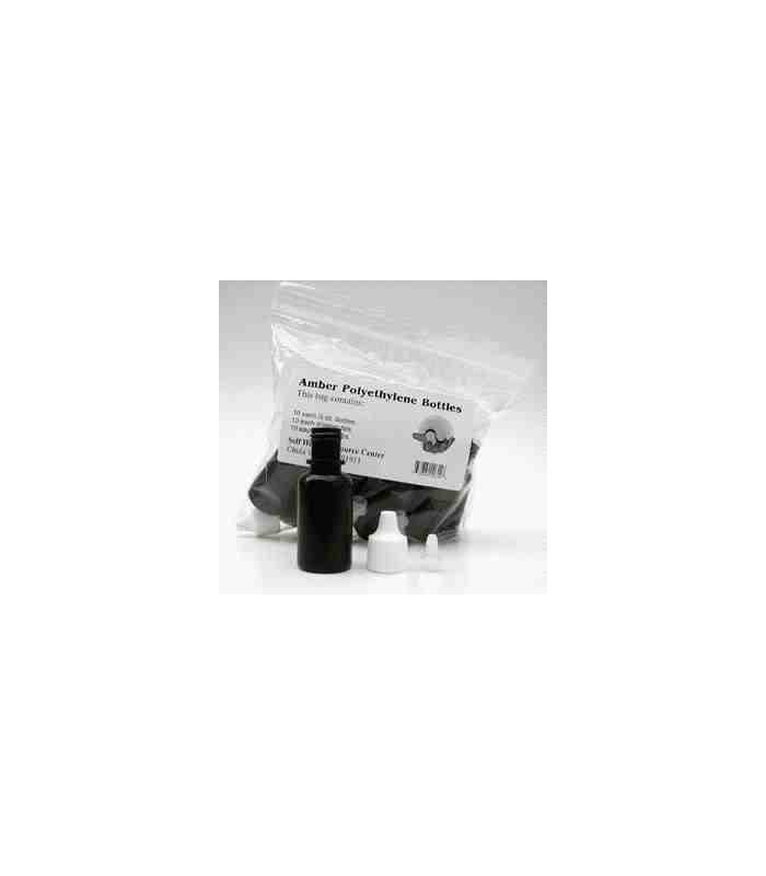 Flacons-Tests - 10 Petites Bouteilles à Compte-Gouttes 10 ml - Dr Clark